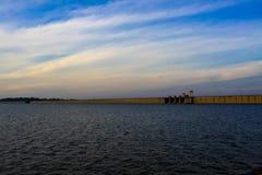 Natural location Kun Dan Pra Kan Chon Dam Stock Photos