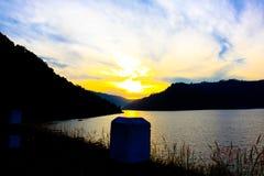 Natural location Kun Dan Pra Kan Chon Dam Nakonnayok Thailand Royalty Free Stock Image