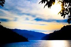 Natural location Kun Dan Pra Kan Chon Dam Nakonnayok Thailand Stock Photos