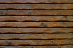 Natural Log Wall Royalty Free Stock Photos