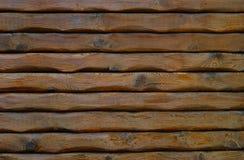 Natural Log Wall Royalty Free Stock Photos