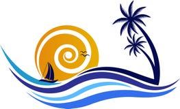 natural logo vector illustration