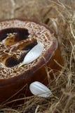 Natural loofah soap Royalty Free Stock Photo