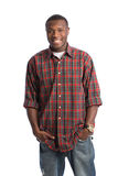 Natural Looking African American Male Royalty Free Stock Photography
