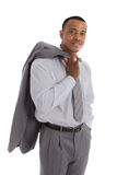 Natural Looking African American Male Businessman Royalty Free Stock Photos