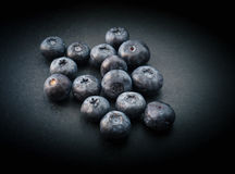 Natural looking blueberries. Royalty Free Stock Photo