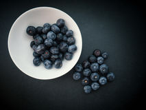 Natural looking blueberries. Stock Images