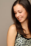 Natural looking brunette Royalty Free Stock Photography