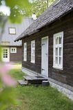 Natural looking old wooden house Royalty Free Stock Photos