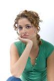 Natural looking woman Stock Photography