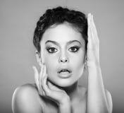 Natural makeup Stock Images