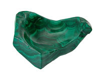 Natural malachite Stock Images