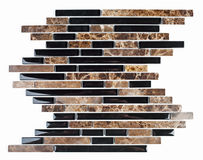 Natural marble and granite mosaic tile. Royalty Free Stock Image
