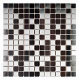 Natural marble and granite mosaic tile. Royalty Free Stock Photo