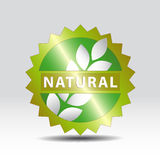 Natural mark Stock Photography