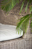 Natural materials furniture detail Stock Photos