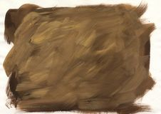 Abstract light brown background. Handpainted backdrop. vector illustration