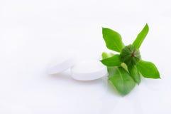 Natural medicine concept Stock Photos