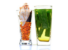 Natural medicines Stock Photography