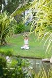 Natural meditation Royalty Free Stock Photo