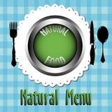 Natural menu Stock Photo