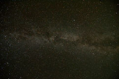 Natural Milky Way Royalty Free Stock Image