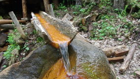Natural of mineral curative stock video