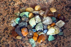 Natural minerals. Stock Image