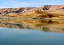 Natural mirror - Azat reservoir Royalty Free Stock Image