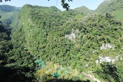 Natural monument park of Semuc Champey at Lanquin Royalty Free Stock Photos