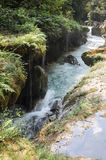 Natural monument park of Semuc Champey at Lanquin Stock Image