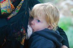 Natural motherhood Royalty Free Stock Photos