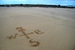 Natural Navigation on the Coast Royalty Free Stock Photos