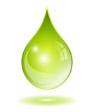Natural oil drop Stock Photography