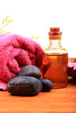 Natural oil massage Stock Photography