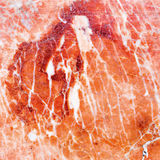 Natural old cracked pink marble rock pattern Stock Photo