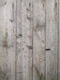 Natural old vertical wood texture background. Selective focus royalty free stock photos
