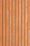 Natural old wood fence planks wooden close board texture, overlapping light reddish brown closeboard terracotta background pattern Stock Photo
