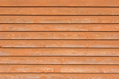 Natural old wood fence planks wooden close board texture, overlapping light reddish brown horizontal closeboard terracotta pattern Royalty Free Stock Images