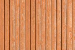 Natural old wood fence planks wooden texture brown. Natural old wood fence planks, wooden close board texture, overlapping light reddish brown closeboard Royalty Free Stock Image