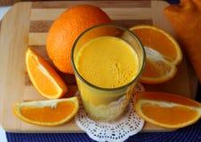 Natural orange juice Royalty Free Stock Image