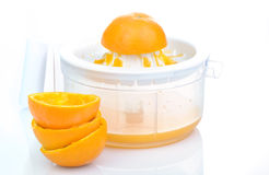 Natural orange juice Royalty Free Stock Images