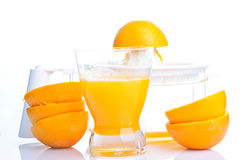 Natural orange juice Royalty Free Stock Photo
