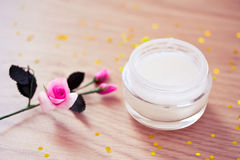 Natural organic beauty lotion/moisturizer Stock Image