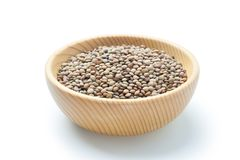 Natural organic lentils Royalty Free Stock Images