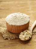 Natural organic Oat flour Royalty Free Stock Photography