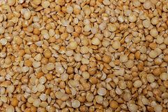 Natural organic orange and yellow pea close-up food royalty free stock images