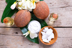 Natural organic spa products. Stock Photo