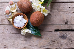Natural organic spa products. Stock Images