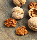 Natural organic walnuts Royalty Free Stock Photography